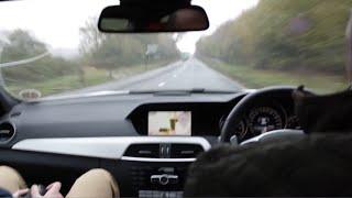 Download C63 135MPH+ on public roads UK (Interior) Video