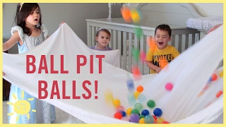 Download PLAY | 3 Ball Pit Ball Activities! Video