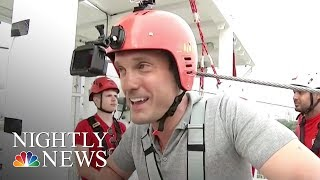 Download This London Zip Line Is Touted As The Fastest In A Major City Center | NBC Nightly News Video