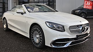 Download INSIDE the NEW Mercedes-Maybach S 650 Cabriolet 2018 | Interior Exterior DETAILS w/ REVS Video