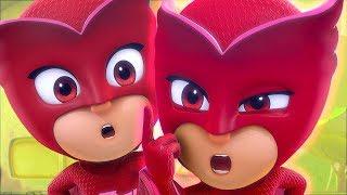 Download PJ Masks Deutsch Pyjamahelden Staffel 2 🌕 Romeo verwandelt sich in Eulette! 🌙 Cartoons für Kinder Video