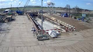 Download Timelapse: bouw station Waddinxveen Triangel Video