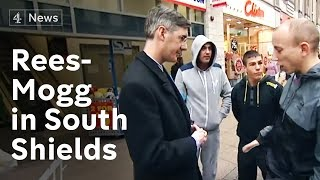 Download Jacob-Rees Mogg in South Shields - painting the town blue? Video