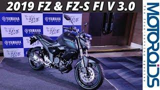 Download New 2019 Yamaha FZ & FZS-FI Version 3.0 First Impressions and Walkaround | Motoroids Video