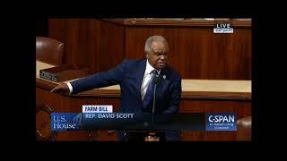 Download Congressman David Scott Statement Condemning 2018 Farm Bill Video