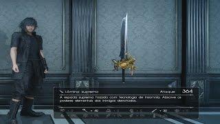 Download Final Fantasy XV - Onde encontrar ″Lâmina Suprema″ a melhor Espada para início do jogo Video