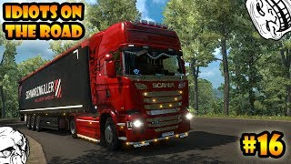 Download ★ IDIOTS on the road #16 - ETS2MP | Funny moments - Euro Truck Simulator 2 Multiplayer Video