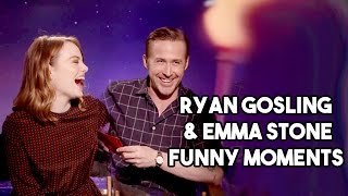 Download Ryan Gosling and Emma Stone Interview Funny Moments Video
