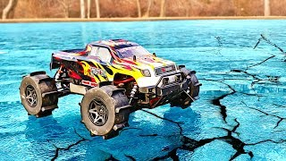 Download RC CAR DRIFTING ON ICE!! Video