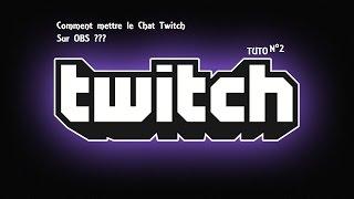 Download TUTO n°2 Comment mettre le Chat TWITCH sur OBS Video