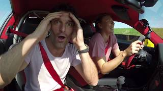 Download Maria Sharapova & Mark Webber in a 911 GT2 RS - Fast laps on the Porsche test track in Weissach Video