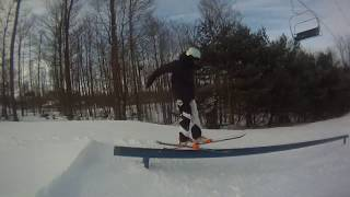 Download How To Hit A Rail On Skis! Video