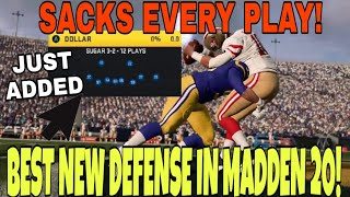 Download EA JUST ADDED A TOTALLY BROKEN GLITCH DEFENSE! GETS INSTANT SACKS EVERY PLAY! Madden 20 Blitz Tips Video