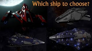 Download Elite: Dangerous. Fer-de-Lance vs Imperial Clipper vs Python vs Federal Assault Ship Video