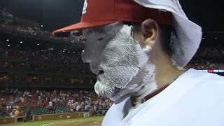 Download Lynn gets pied after shutout Video