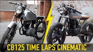 Download My Honda CB125 Cafe Racer Build - TIME LAPSE CINEMATIC Video