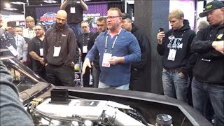 Download Street Outlaws The Reaper reveals new Procharged Camaro at PRI Video