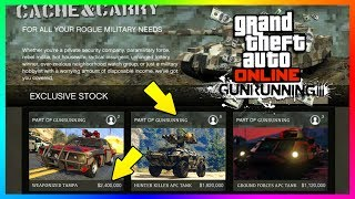 Download GTA ONLINE GUNRUNNING DLC - HOW MUCH MONEY YOU'LL NEED FOR ALL WEAPONIZED VEHICLES, BUNKERS & MORE! Video