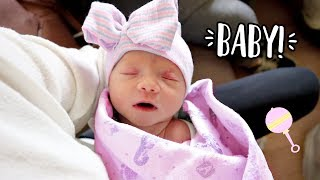 Download MEETING THE NEW BABY! Born 3 Weeks Early!! Video