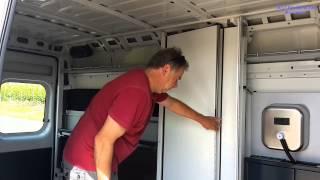 Download CAILLY camper van (kit for delivery vans) / Camping Fahrzeugausbau Video