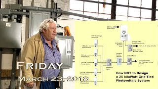 Download EVTV Friday Show - How NOT to Design a Grid Tied Solar Power System Video