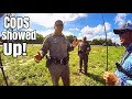Download COPS Called While Bass Fishing on Highway Ponds!! Video