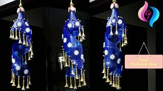 Download Plastic bottle wind chime - Recycled wine bottle wind chimes - Craft wine bottle wind chimes Video