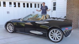 Download The Spyker C8 Is the Quirkiest $250,000 Exotic Car in History Video