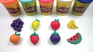 Download تعليم صناعة الفاكهة بالصلصال وتعلم اسمائها   Learn Fruits Names   Playdoh Video