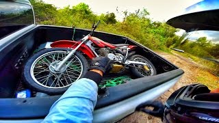 Download FOUND A STOLEN TRUCK WITH PIT BIKE!! Video