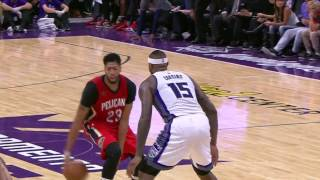 Download Anthony Davis Puts Up 34 to Match DeMarcus Cousins' 28 Points Video