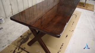 Download How to Apply Bar Top or Table Top Pour on Finish (Epoxy Resin) Video