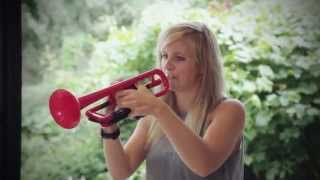 Download Alison Balsom, international soloist discovers pTrumpet for the first time Video