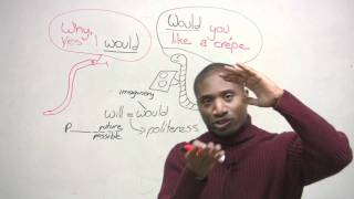 Download Polite English - Why do we use ″would″? Video