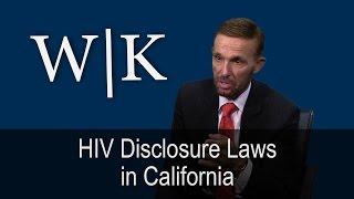 Download HIV Disclosure Laws in California Video