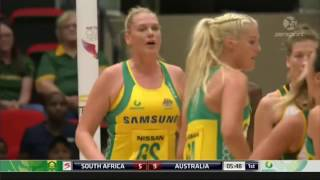 Download Netball Australia vs South Africa 2017 Quad Series Full Match Video