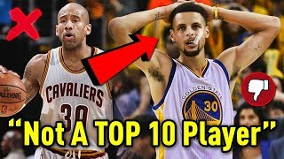 Download NBA Player Says Steph Curry Is NOT A TOP 10 NBA Player! Video