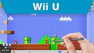 Download Wii U - Mario Maker E3 2014 Announcement Trailer Video