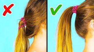 Download 20 حيلة رائعة لتسريحة الشعر بدقيقة واحدة Video