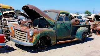 Download Junkyard Rescue! Saving a 1950 GMC Truck - Roadkill Ep. 31 Video