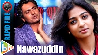 Download Nawazuddin Siddiqui's KILLER Rapid Fire On Chitrangda Singh | Amy Jackson | Radhika | Anurag Video