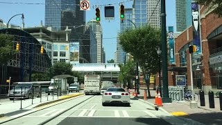 Download Driving Downtown - Charlotte - USA Video