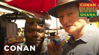 Download Conan & Sam Richardson Explore Makola Market - CONAN on TBS Video