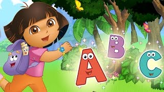 Download ABC Song | ABC Alphabet Songs Nursery Rhymes | Learn Alphabets ABC with Dora the Explorer By Nick JR Video