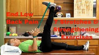 Download End Low Back Pain: 7 Stretches & Strengthening Exercises-Daily Routine Video