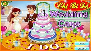 Download Chị bí đỏ làm bánh kem cho tiệc cưới (Wedding Cake) ♥ Trò chơi nấu ăn ♥ Video