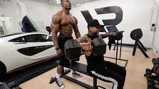 Download FULL BEAST SHOULDERS ROUTINE WITH JEFF LOGAN Video