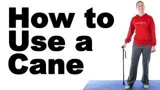 Download How to Use a Cane Properly - Ask Doctor Jo Video