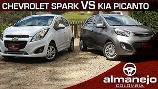 Download Kia Picanto Ion vs Chevrolet Spark GT Almanejo Colombia Video