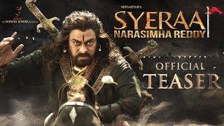 Download Sye Raa Narasimha Reddy Teaser | Chiranjeevi | Ram Charan | Surender Reddy | Konidela Production Video